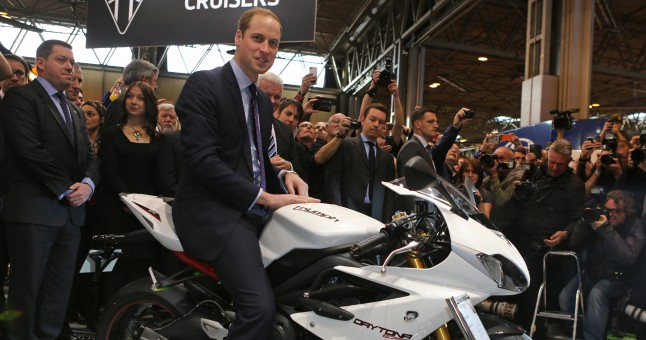Motorcycle Live gets the royal touch