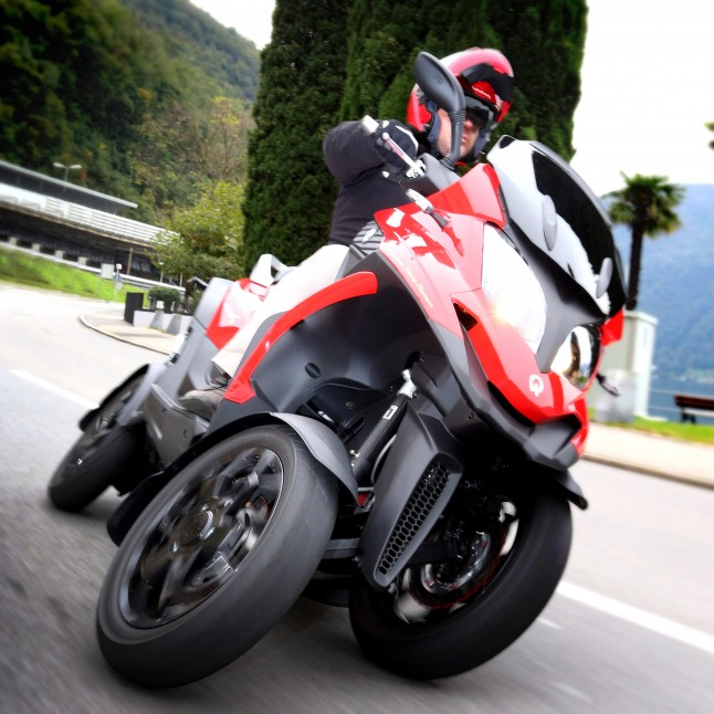 Quadro at Motorcycle Live