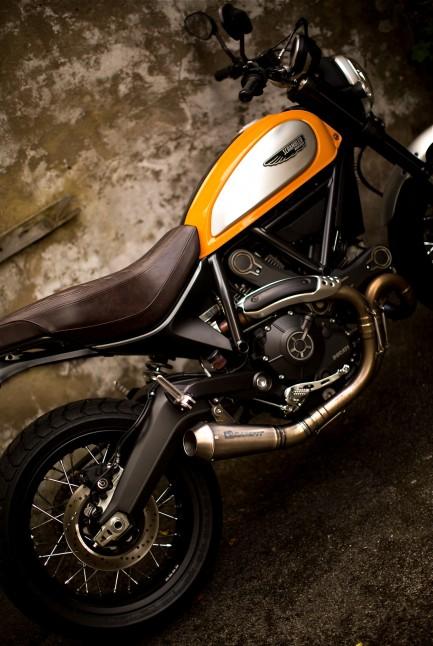 Racefit Ducati Scrambler