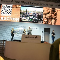 Racing stars support Riders for Health day at Motorcycle Live