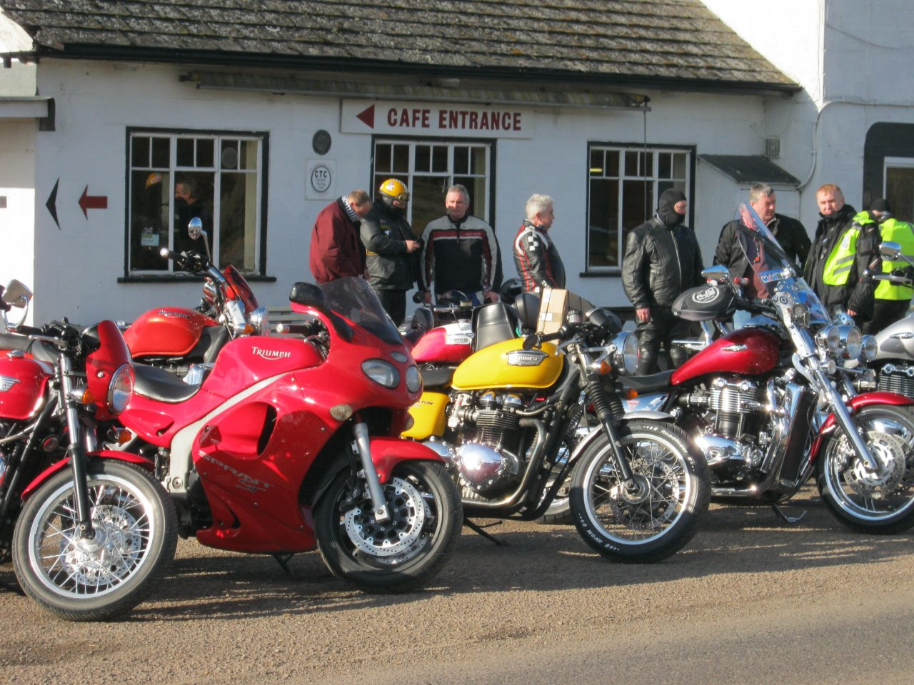 triumph owners' motorcycle club | motorcycle live 2017